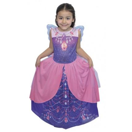 Disfraz Barbie Mariposa Violeta  T:2