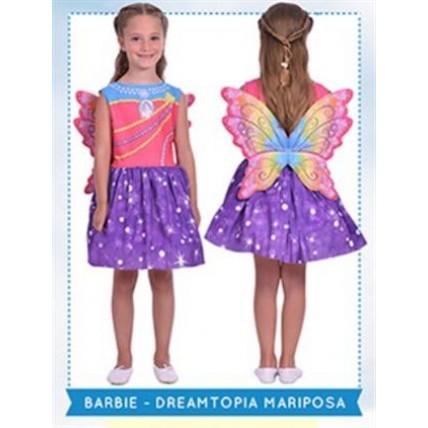 Disfraz Barbie Mariposa Dreamtopia  T:0