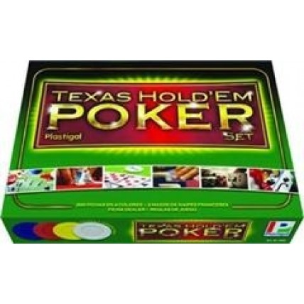 Texas Holdem Poker Set Plastigal