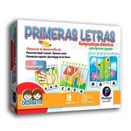 Juego Primera Letras -  Plastigal