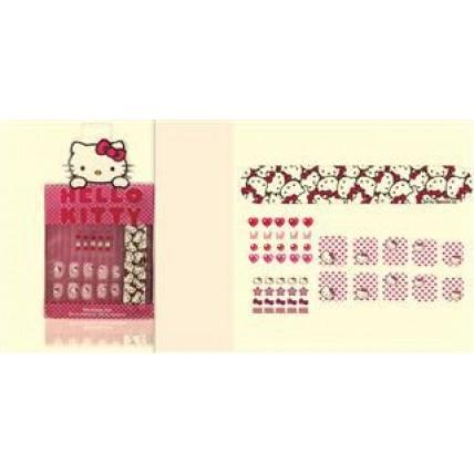 Set De Uñas Postizas Hello Kitty