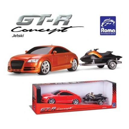 Auto Gt-r Concept C/ Jet Ski