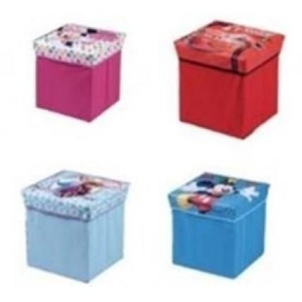 Caja Soft Plegable Con Tapa - Mickey
