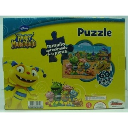 Puzzle 60 Piezas Henry Mounstrito