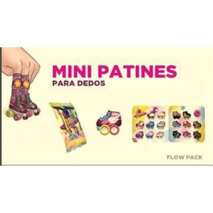 Patines Para Dedos Coleccionable  Flow Pack X 1 Patin.