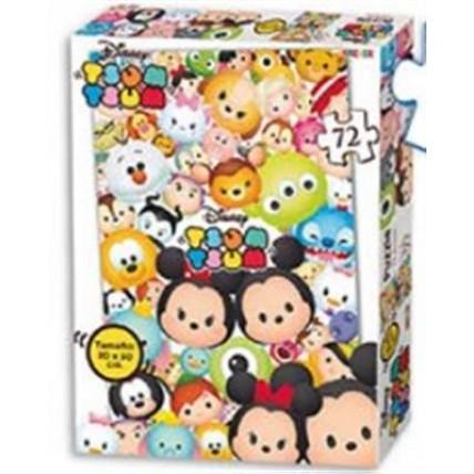 Puzzle Tsum Tsum De 72 Piezas De 21x30 Cm