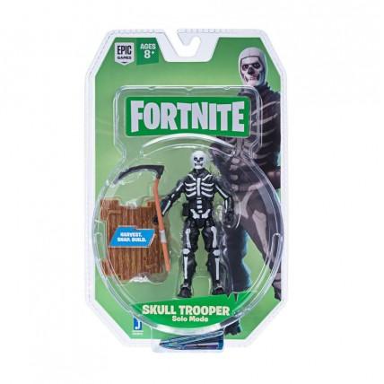Figura Articulada 10 Cm Skull Trooper  Fortnite