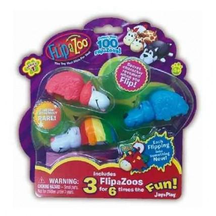 Flipazoo Mini Reversible Coleccionable - Pack 3