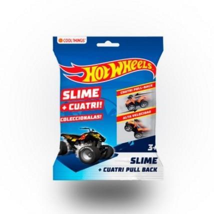 Cuatri Hot Wheels + Slime