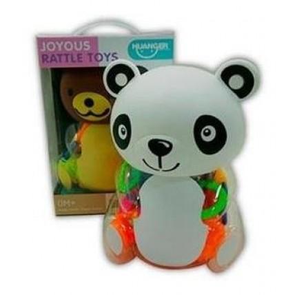 Set Sonajeros En Ositos Panda Y Bear En Estuche