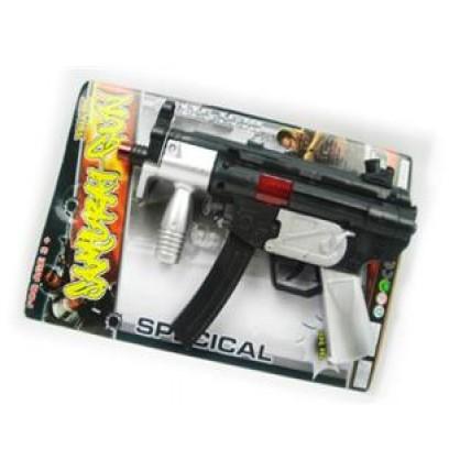 Arma De Asalto A Friccion Con Chispas En Blister