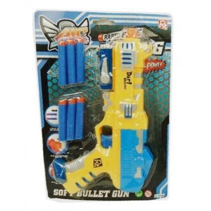 Arma Bullet Lanza Dardos Soft