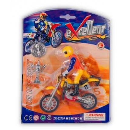 Motocross Con Motociclista