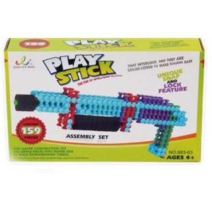 159 Piezas Play Stick  Building Block Arma Un Fusil