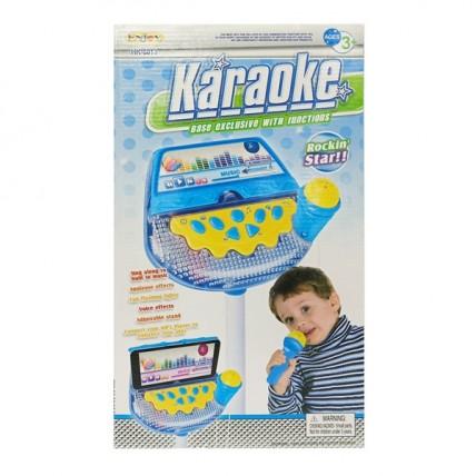Microfono De Pie Con Base Con Teclado Digital Musical