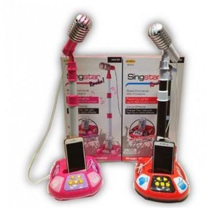 Microfono Con Teclado Digital