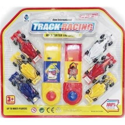 Set 2 Disparadores Con 6 Autos Formula 1