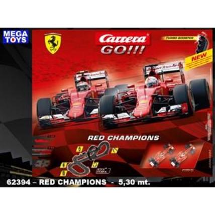 Pista Autos Red Champions - Carrera Go!