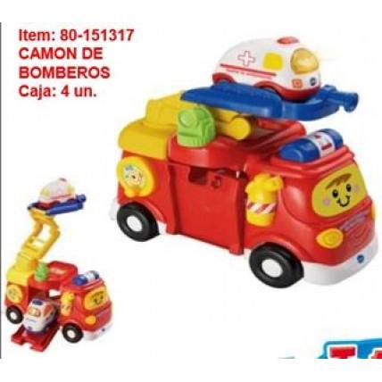 Camion Bomberos Vtech - Interactivo
