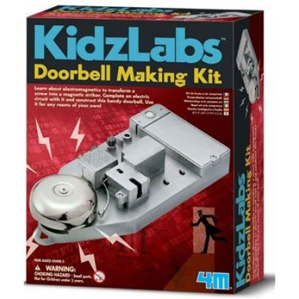 Kidz Labs / Doorbell Making Kit 1/6/48