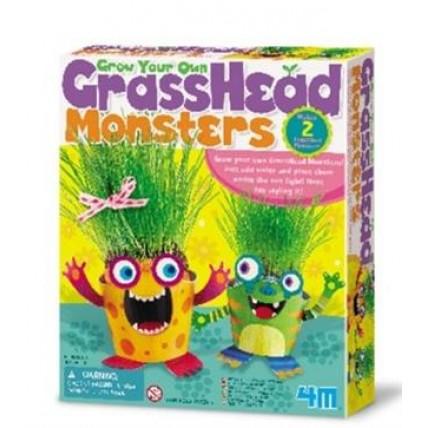 Juego De Ciencia Grass Head Monsters - 4m