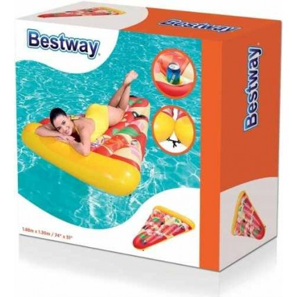 Pizza Party Inflable -1.88m X 1.30m - Bestwey