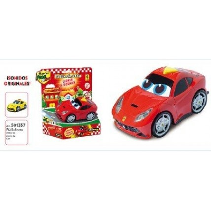 Auto Ferrari Berlinetta Con Luces Y Sonido