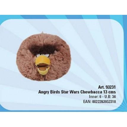 Angry Birds Peluche  Star Wars Chewbacca 13cm