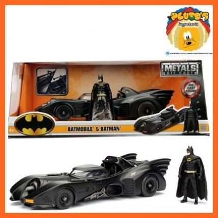 Vehiculo Batimovil 1989 Con Batman Escala 1:24