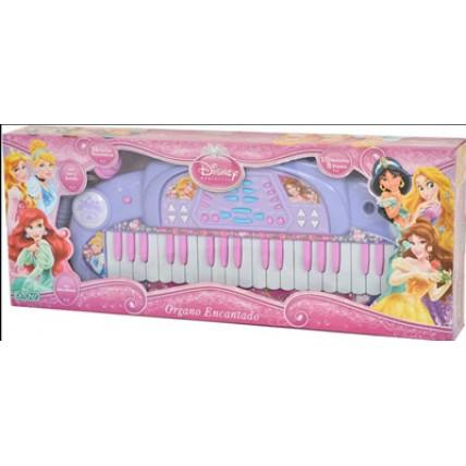 Piano Princesas - Organo Encantado Con Microfono Ditoys