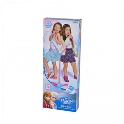 Microfono Doble De Pie Frozen - Ditoys