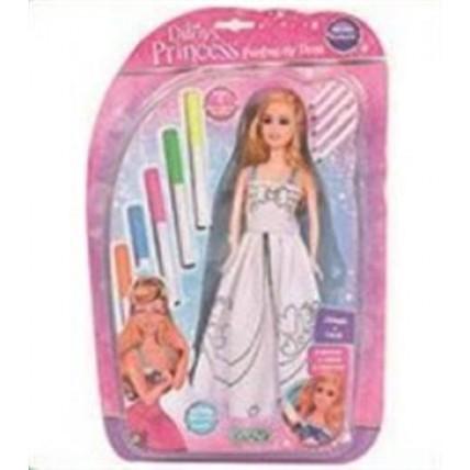 Ditoys Princesas Painting My Doll