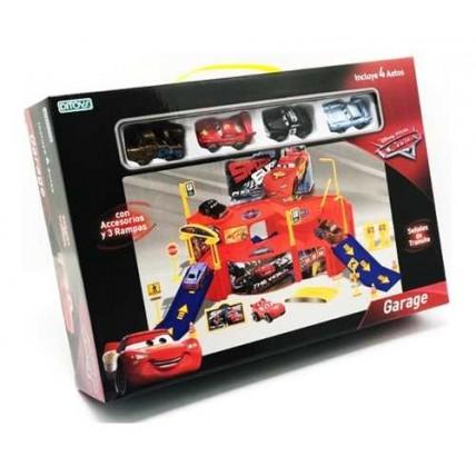 Garage Estacionamiento Cars 4 Autos Ditoys