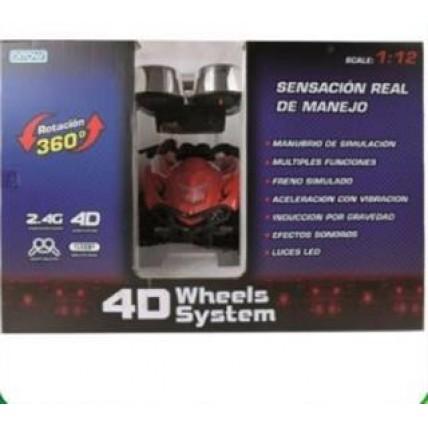 Auto 4d Wheels- Interactivo -radio Control
