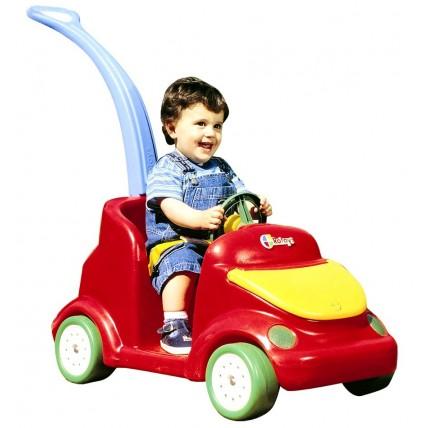Auto De Paseo Bebe Manija Baul Cinturon Rotoys
