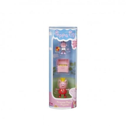 Peppa Pig - Tubos Coleccionables Con 2 Figuras + Accesorios
