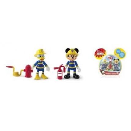 2 Figuras Línea Clásica C/accs. Mickey Y Donald