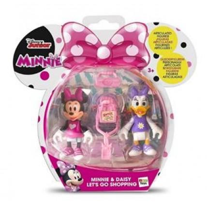 2 Figuras Minnie Y Daisy Van De Shopping