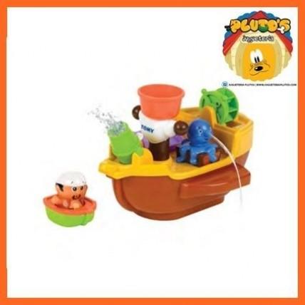 Barco Pirata Para Bañera