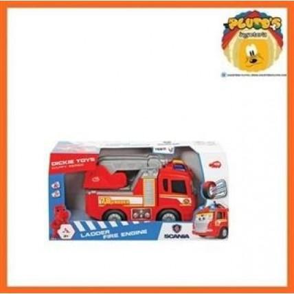 Camion Infantil Motorizado - 25cm Con Luz Y Sonido