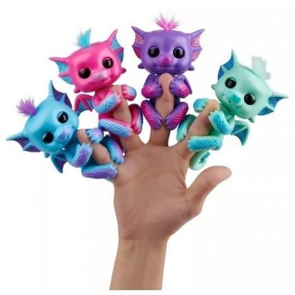 MuÑeco Fingerlings Bebe Dragon Con Glitter