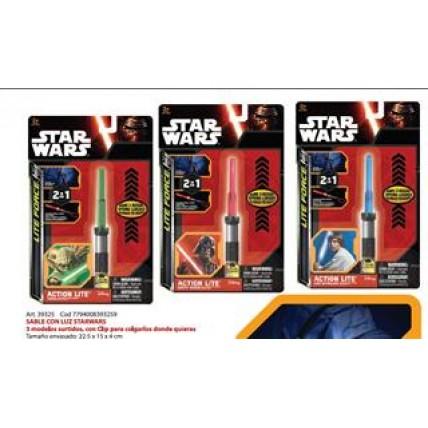 Sable Con Luz Star Wars - Con Clip