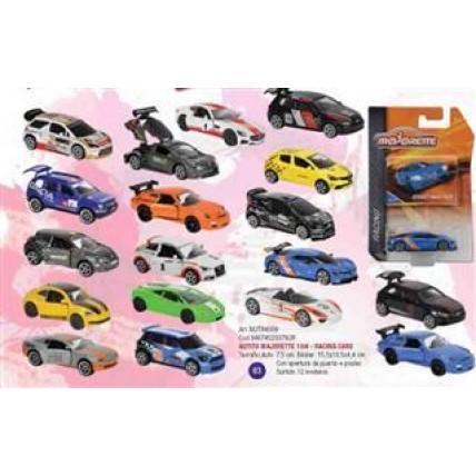 Autito Majorette 1:64 - Racing Cars Con Apertura De Puerta